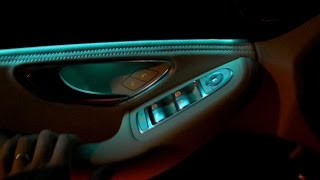 Download 2015 Mercedes C-Class W205 AMBIENT LIGHT INTERIOR LED LIGHTS REVIEW PRESENTATION C200 C300 C400 Video