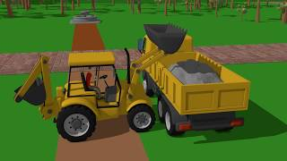 Download #Excavator and Snow Cat - rescue operation | Various Machines for babies and Kids - Koparki Video