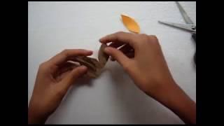 Download Bunga dari Daun Pisang Kering - Kerajinan Tangan Video