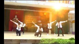 Download HOT BOY Nhảy Good Boy và Bang Bang Bang tại THPT Chương Mỹ B Video