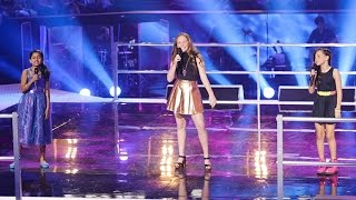 Download Elina, Grace and Jasmine Sing Burn | The Voice Kids Australia 2014 Video