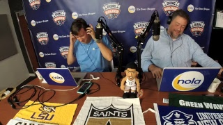Download Dunc & Holder on Sports 1280 in New Orleans. October 2, 2017 Video
