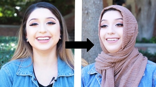 Download Women Try Wearing Hijabs For Hijab Day Video
