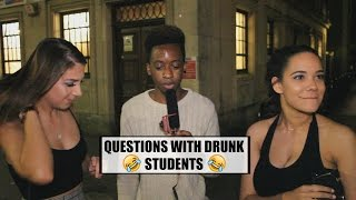 Download TRICK QUESTIONS WITH DRUNK STUDENTS PART 2 !!! Video