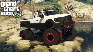 Download OFF-ROAD RACE TRACK CHALLENGE! 4x4 Off-Roading, Hill Climbing, Mudding! (GTA 5 PC Mods) Video