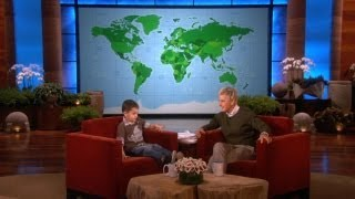 Download Adorable 4-Year-Old Geography Expert Video
