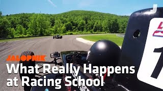 Download Here's What Happens at a Real Racing School Video