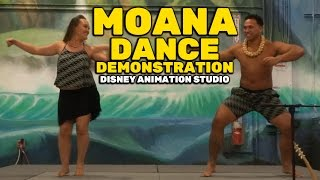 Download ″Moana″ Pacific Island dance demonstration at Walt Disney Animation Studio Video