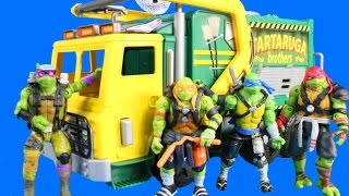 Download Teenage Mutant Ninja Turtles Out Of The Shadows Turtle Tactical Truck TMNT Vs Shredder Video