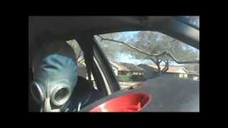 Download Hotboxing the car with gas mask hits Video