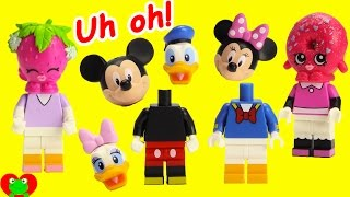 Download Mickey Mouse Club House Friends Wrong Heads Disney Lego and Minnie Magical Microwave Video