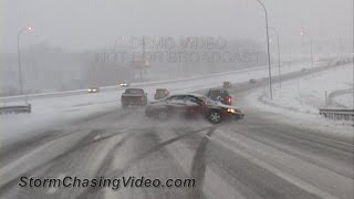Download Compilation of Ridiculous Car Crash and Slip & Slide Winter Weather - Part 1 Video