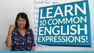 Download 10 Common English Expressions Video