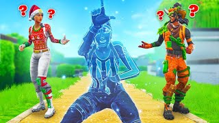 Download So We CHEATED In Hide & Seek Fortnite... (Invisible Glitch) Video