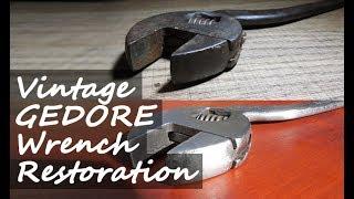 Download Vintage Gedore Wrench Restoration Video
