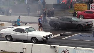 Download New muscle cars vs old muscle part 1-sound,top speed,drag races and burnouts Video