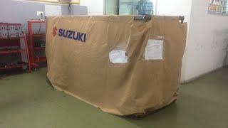 Download Suzuki Hayabusa Unboxing 2018 with brocks exhaust Video