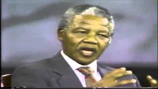 Download Rare Video: Nelson Mandela Speaking on Palestine [Extracts] Video
