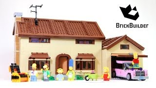 Download Lego The Simpsons House 71006 build and review Video