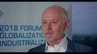 Download UNU-WIDER's Tony Addison at the 2018 Forum on Globalization and Industrialization Video