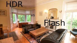 Download HDR vs Flash photography: Property Photos (large room) Video