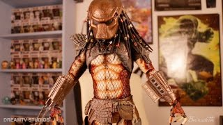 Download Neca 1/4 Scale Predator 2 Collectible Figure with LED Weapons Video