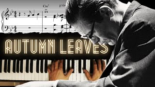 Download Autumn Leaves - Advanced (Bill Evans' Style) │Jazz Piano Lesson #35 Video