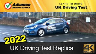 Download New 2018 UK Driving Test Replica (full route with Sat-Nav / manual car) Video