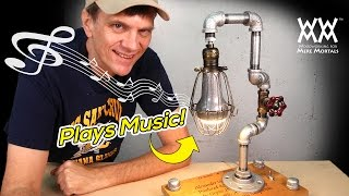 Download DIY Steampunk Lamp Plays Music! | ART & DESIGN | [Sponsored] Video