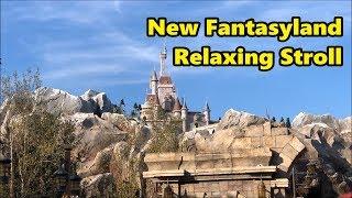 Download New Fantasyland Relaxing Stroll | Magic Kingdom | Walt Disney World Video