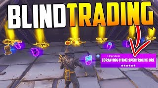 Download Blind Trading With The RICHEST Player EVER! *MUST SEE* - Fortnite Save The World Video