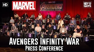 Download Avengers: Infinity War Press Conference Video