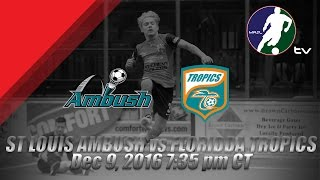 Download St Louis Ambush vs Florida Tropics SC Video