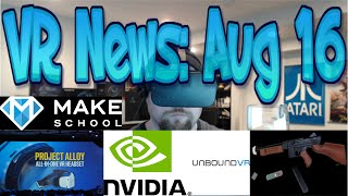 Download VR News: Aug 16 - Intel Project Alloy Fact vs Hype!? - VR capable mobile GPUs & More! Video