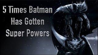 Download 5 Times Batman Has Gotten Super Powers Video