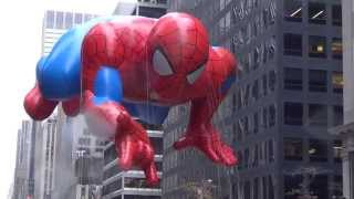 Download Macy's Parade 2014 Spider Man Balloon Video