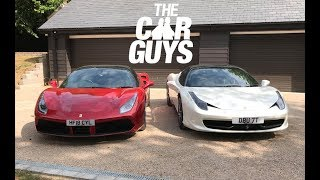 Download Ferrari 458 versus 488 - which would YOU buy? Includes free WINDOW SMASHING! Video