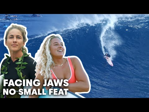 Emily Erickson And Izzi Gomez Prepare To Face Jaws At Its Biggest  | No Small Feat S1E1