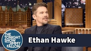 Download Ethan Hawke Showers in Jimmy's Embarrassing SNL Jacket Video