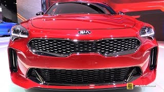 Download 2018 KIA Stinger GT - Exterior and Interior Walkaround - Debut at 2017 Detroit Auto Show Video