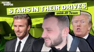 Download DAVID BECKHAM and DONALD TRUMP! | Stars In Their Drives with Al Foran Video