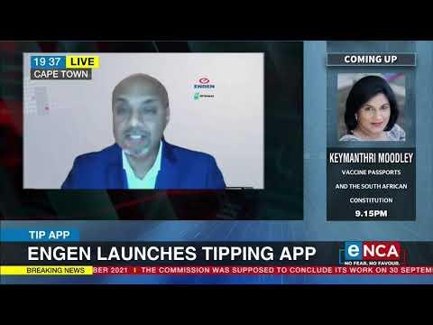 Engen launches tipping app