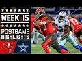 Download Buccaneers vs. Cowboys | NFL Week 15 Game Highlights Video