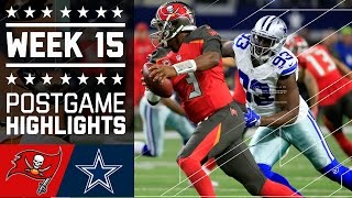 Download Buccaneers vs. Cowboys | NFL Week 15 Game Highlights Video