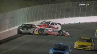 Download NASCAR K&N Pro Series West 2017. Spokane County Raceway. Multiple Crash & Red Flag Video