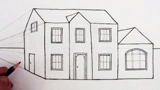 Download How to Draw a House in 1-Point Perspective: Narrated Video