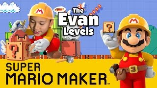 Download Let's Play SUPER MARIO MAKER - The Evan Levels! Video