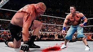 Download WWE John Cena vs Brock Lesnar Full Match HD !!! Video