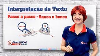 Download Interpretação de Texto | Passo a passo com a professora Vânia Araújo | Bancas CONSULPLAN e FCC Video