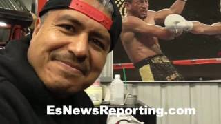 Download Mikey Garcia on the fighter of the year - EsNews Boxing Video